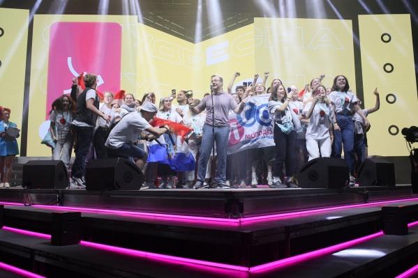 Студенты из Самары выступили на сцене вместе с главой региона
