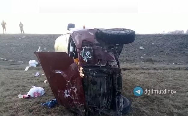 Взял попутчиков: вБашкирии в ДТП погиб один человек, еще четверо — в больнице