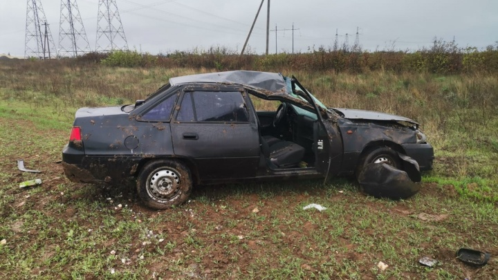 Массовое ДТП на трассе под Волгоградом: есть погибший, пострадали двое детей и двое взрослых