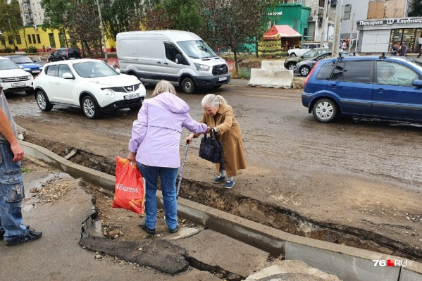 Переходы на проспекте Машиностроителей в Ярославле — настоящая полоса препятствий