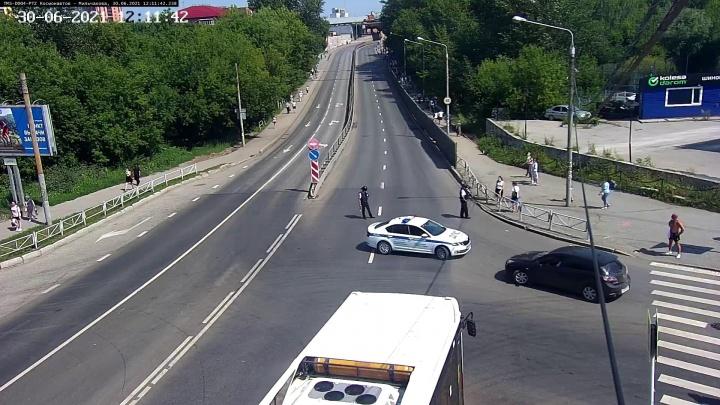 В Перми перекрыли шоссе Космонавтов из-за подозрительного предмета