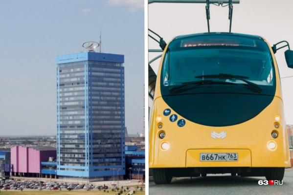 Самарцев заинтересовала судьба работников АВТОВАЗа и рейсов электробуса