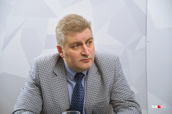 Игорь Гладнев был министром культуры с 2013 по 2017 годы