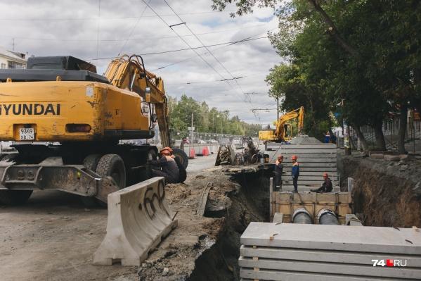 Жителям Металлургического района придется снова потерпеть, несмотря на то, что сезон раскопок официально закончен
