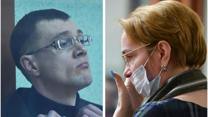 Отомстил за измену: в Екатеринбурге судят мужчину, который зарезал жену в здании суда