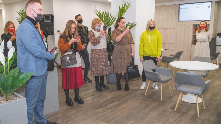 Кракен, кофе и биометрия: как устроен новый офис Альфа-Банка