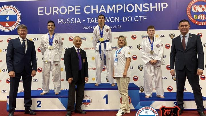 Пермяк с диагнозом ДЦП завоевал две золотые медали на чемпионате Европы по тхэквондо