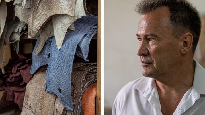 Российский ученый делает ботинки и пиджаки из семги — китайцы захотели купить технологию за полмиллиона долларов