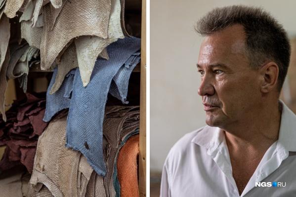 """Александр Васенёв построил бизнес на рыбьей коже. Из нее делают сумки, кошельки и украшения. Но прежде чем найти уникальную идею, предприниматель потерял <nobr class=""""_"""">10 млн</nobr>. Вдохновляйтесь его историей успеха"""