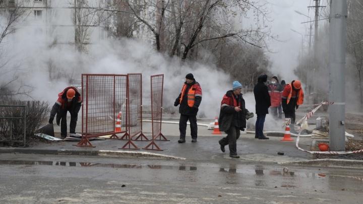 В Волжском без тепла и горячей воды остались больше 50 тысяч человек
