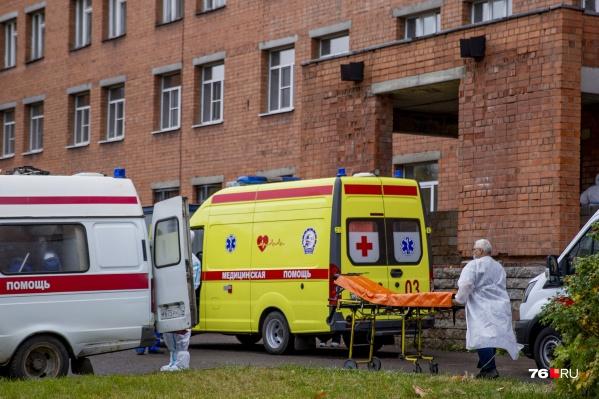 В Ярославской области растет число больных коронавирусом
