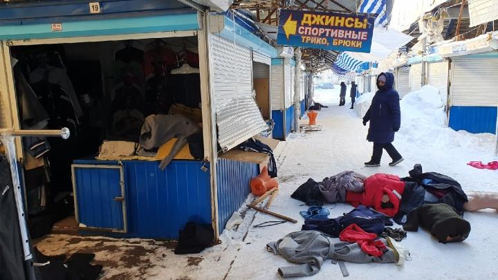 Кто ограбил Дзержинский рынок в Ярославле: версия продавцов