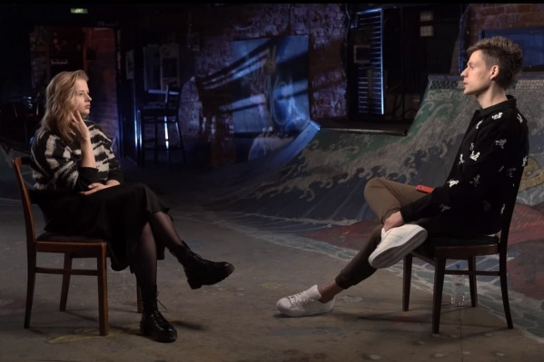 Саша Бортич впервые пришла на интервью к Юрию Дудю