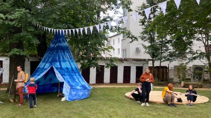 Ванна Архимеда и стул Ньютона. Чем удивила выставка садов в центре Нижнего Новгорода