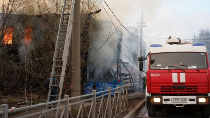 Полиция нашла предполагаемых виновников пожара в доме Брагина
