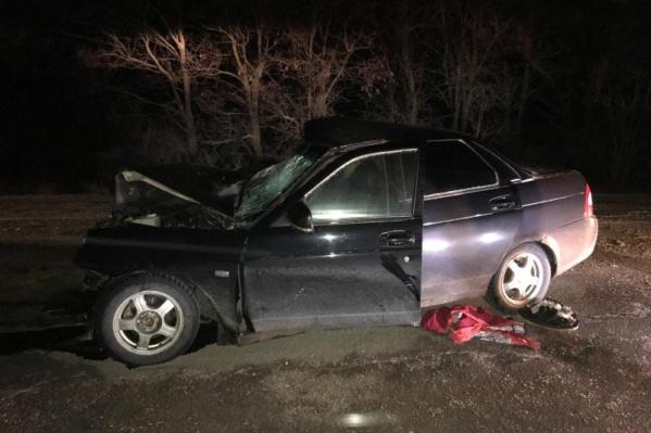 Пассажир Lada Priora скончался до приезда медиков
