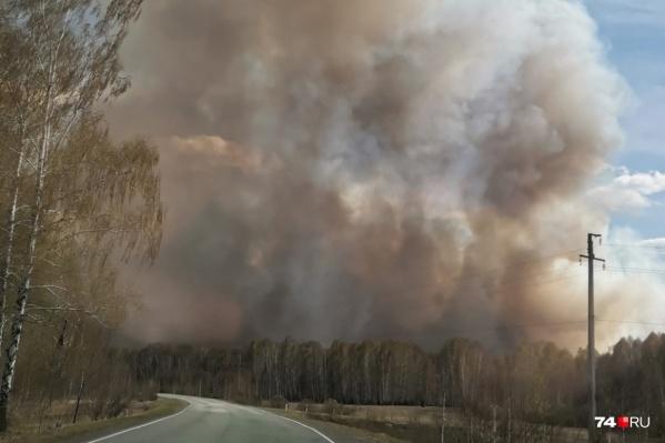 Неприятная ситуация сложилась, когда всё лето в Челябинской области то тут, то там возникают природные пожары
