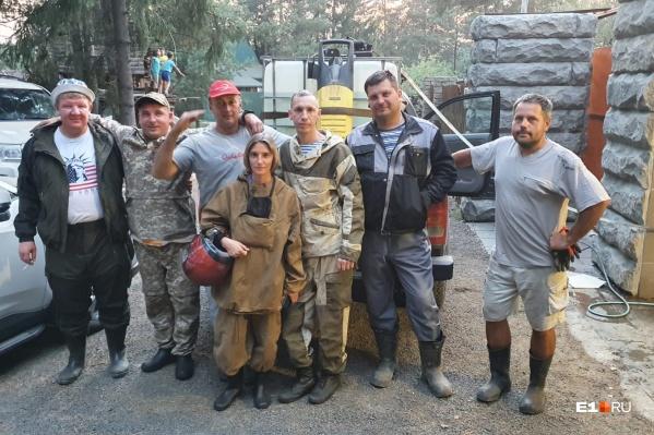 Жители Решёт сделали пожарную машину с помощью обычной мойки