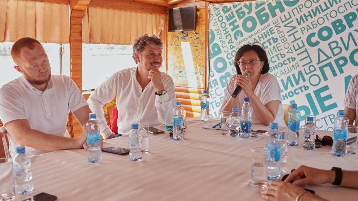 Урбанисты и сторонники партии «Новые люди» провели круглый стол, посвященный благоустройству Ростова