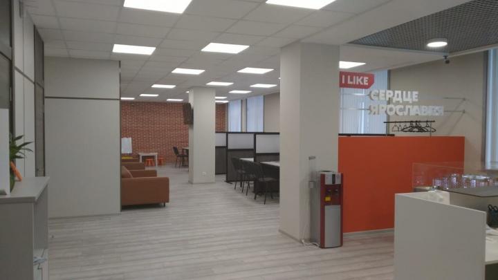 Рядом со строительной площадкой ЖК «Сердце Ярославля» начал работать офис продаж