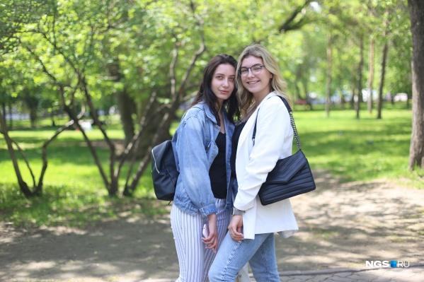 Ульяна и Даша считают, что в супермаркете должна быть приятная атмосфера