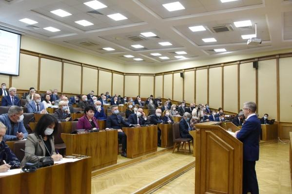 Депутаты бюджетную программу утвердили