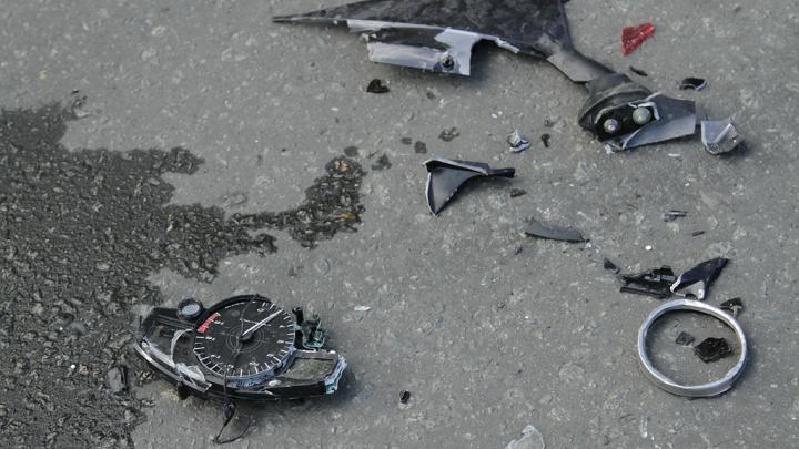 Утром на перекрестке в Волгограде сбили байкера
