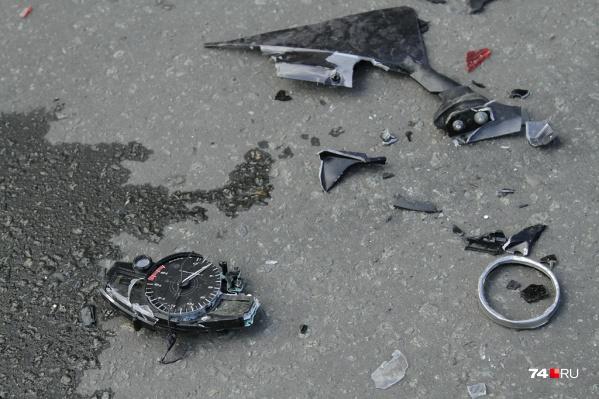 В Кургане этой весной произошло уже несколько аварий с мотоциклами