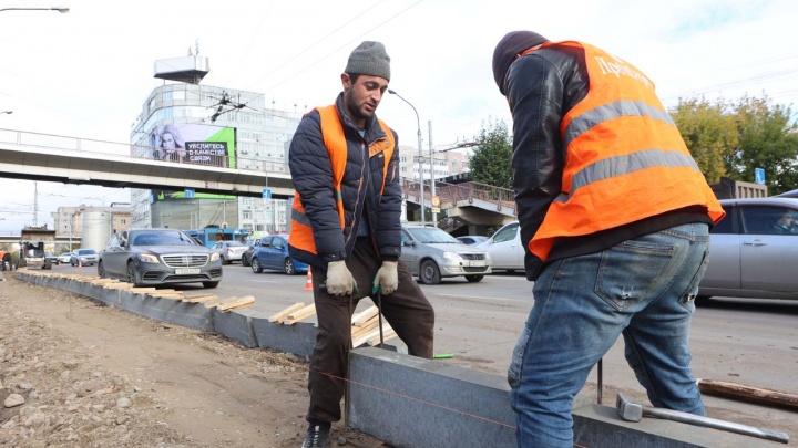 Улицу Маерчака не будут перекрывать на время ремонта. Асфальт должны уложить до конца октября