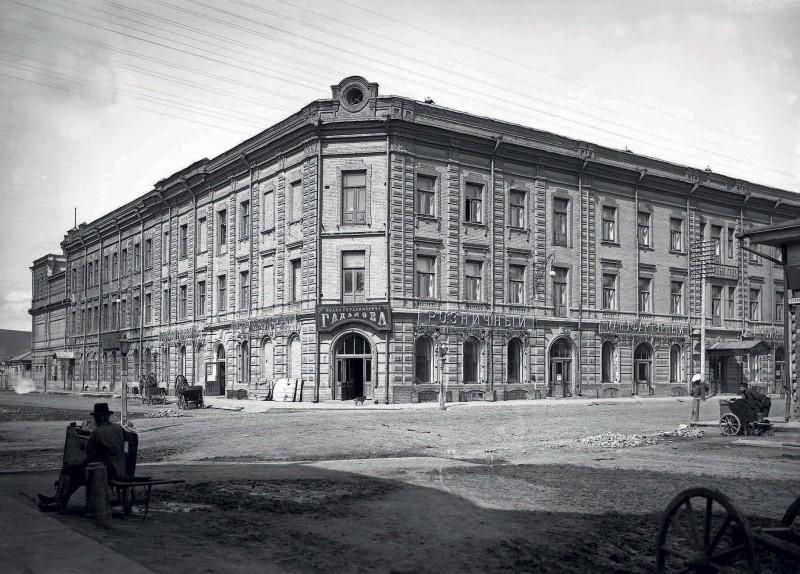Дом Гадалова, в котором размещался суд