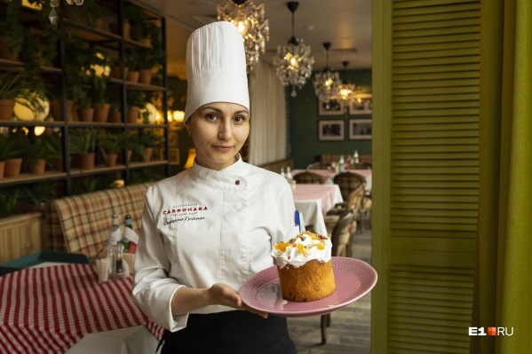 Гульназ Спицина — шеф-кондитер ресторана Carbonara