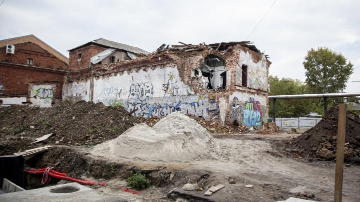 В центре Ярославля сносят исторический дом под строительство многоэтажки