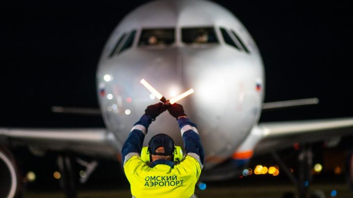 «Аэрофлот» будет летать в Омск не два, а три раза в неделю