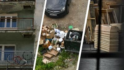 Горы мусора, гробы и статуя медведя: гуляем по скрытым от глаз дворам улицы Вайнера
