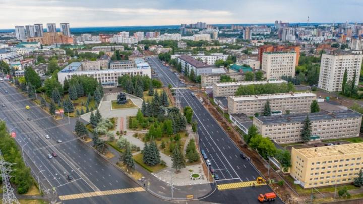 В Уфе после двухлетнего ремонта открыли движение на улице Комсомольской и 8 Марта