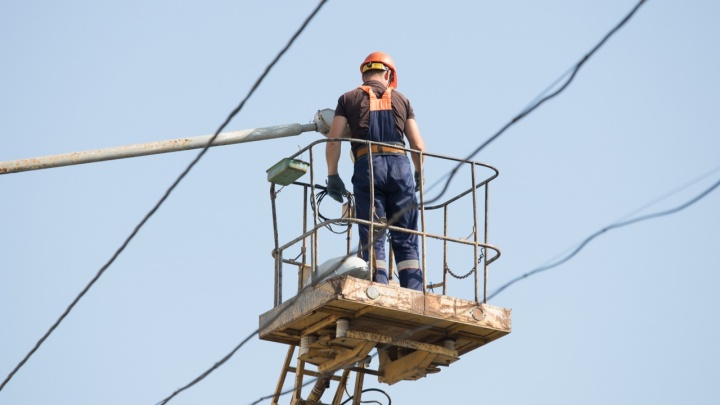 Сорокаградусная жара вызвала перебои с электроснабжением в Ростове