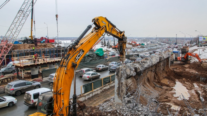 Власти Уфы назвали новые сроки окончания ремонта на развязке Валиди — Юлаева