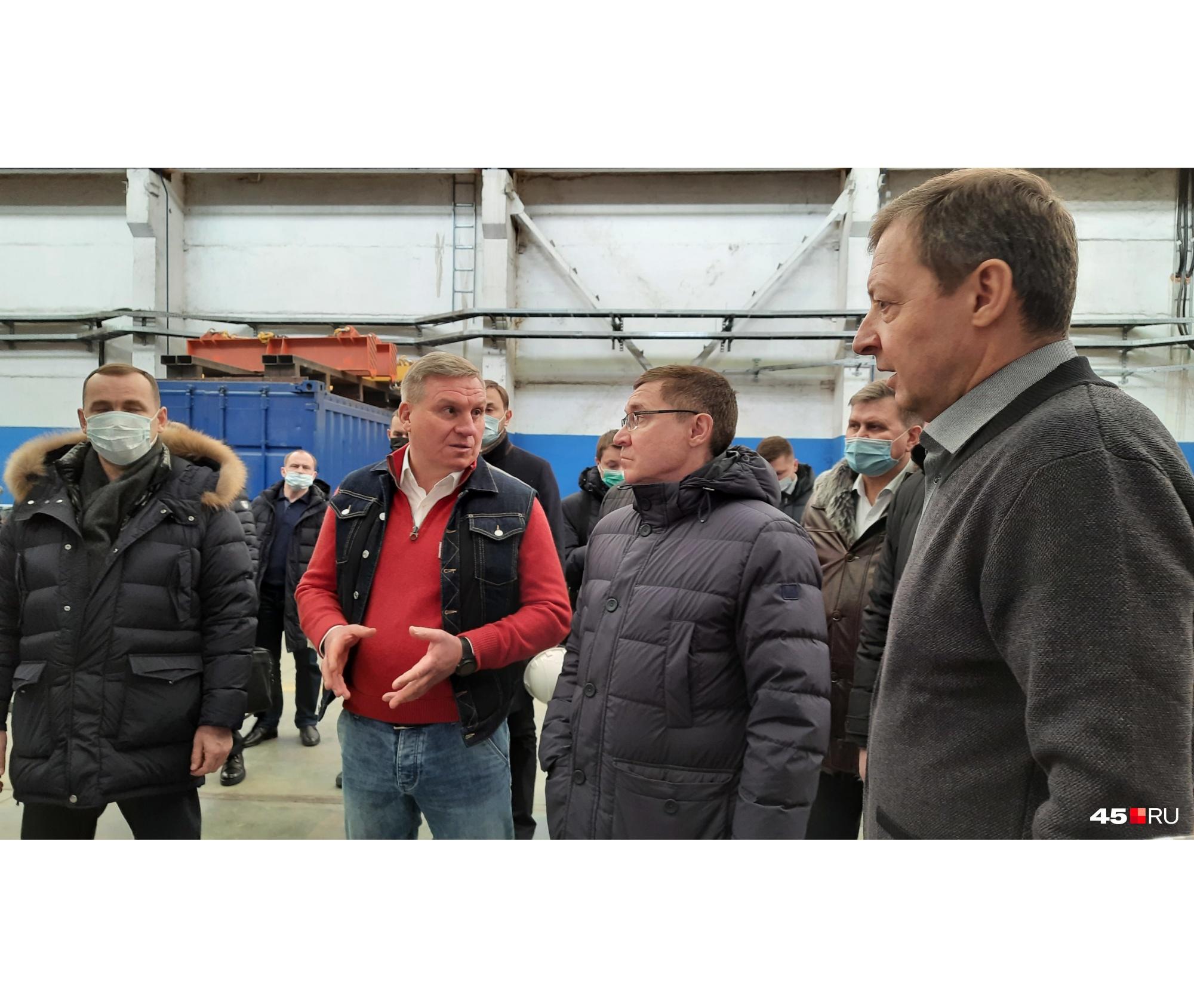 Владимиру Якушеву объяснили суть нового производствана базе КЗКТ