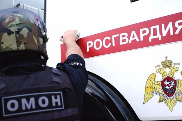 Специалисты ОМОНа вывезли и уничтожили найденную гранату
