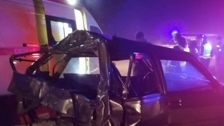 В тумане и дымке на трассе Челябинск — Екатеринбург столкнулись четыре машины. Трое раненых — в больнице