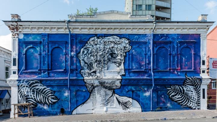 Распишут бетонные заборы и фасады в центре. В Перми пройдет фестиваль граффити «Стенограффия»