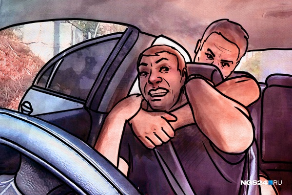 Попытка удушения — руками или удавкой, одна из историй, про которую упоминали все таксисты в беседе с журналистами