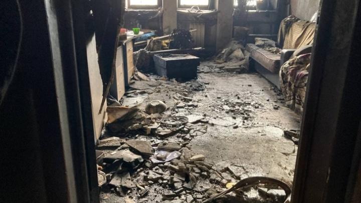 Стала известна предварительная причина ночного пожара на Гондатти (виновата детская шалость)