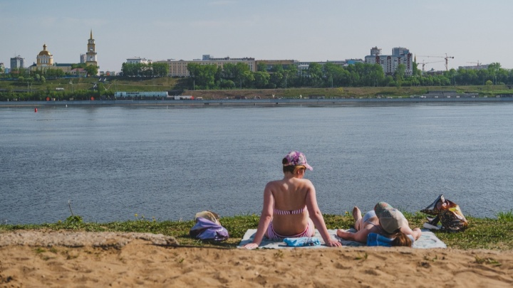 В Пермском крае на неделе сохранится 30-градусная жара