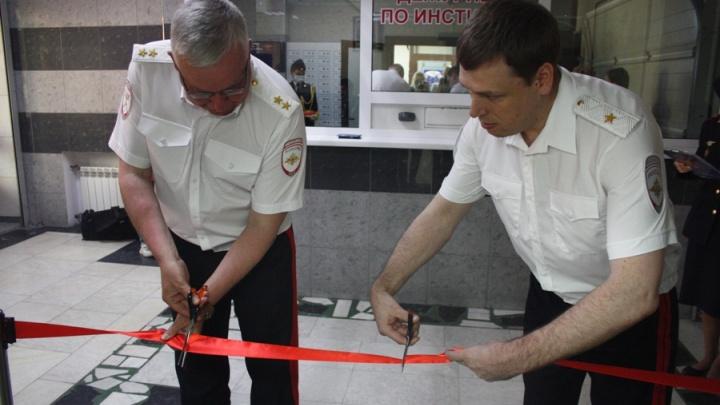 На Урале торжественно открыли полигон для курсантов МВД