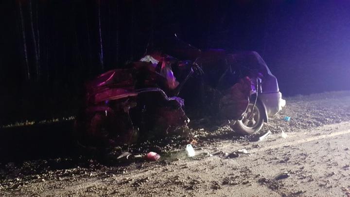 Два человека погибли в аварии на трассе Тюмень — Ханты-Мансийск