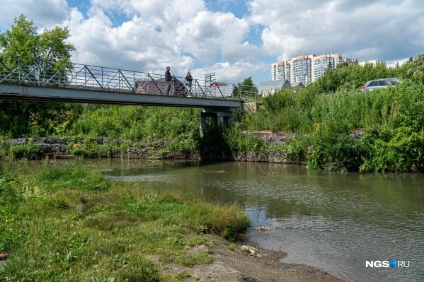 Тула — речка с самыми современными мостами: старые снесло водой в 2015 году