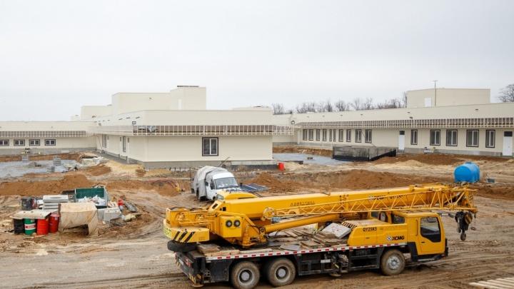Застройщика инфекционной больницы в Ростове оштрафовали за строительство без проекта