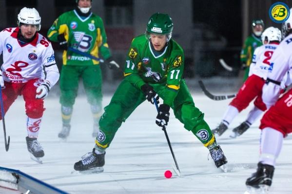 Архангельской команде удалось вырвать победу в непростом матче с вице-лидером турнира