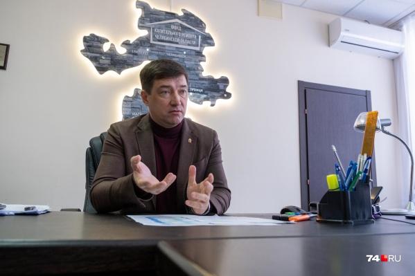 Оператор капремонта приучил челябинцев платить, а дальше дело уже за самими собственниками, уверен Вадим Борисов